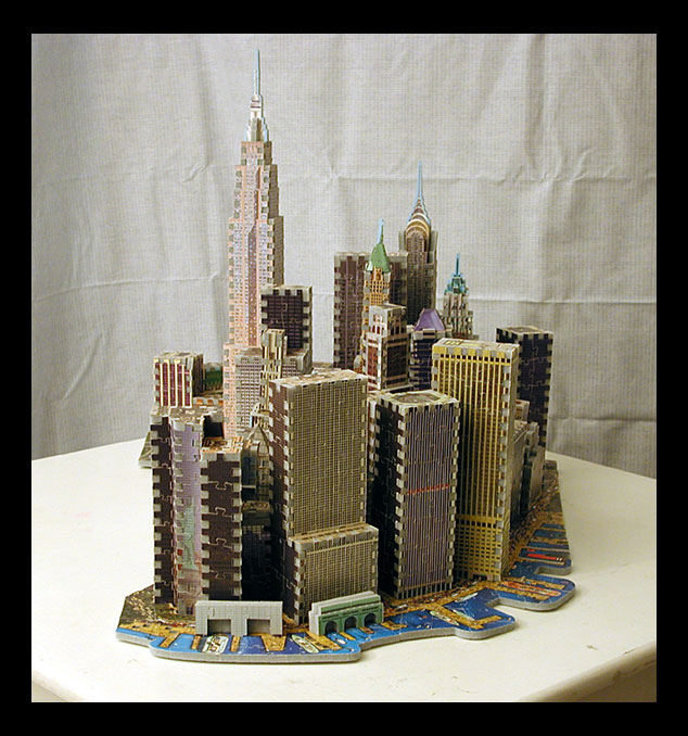 puzzle 3d empire state building wrebbit